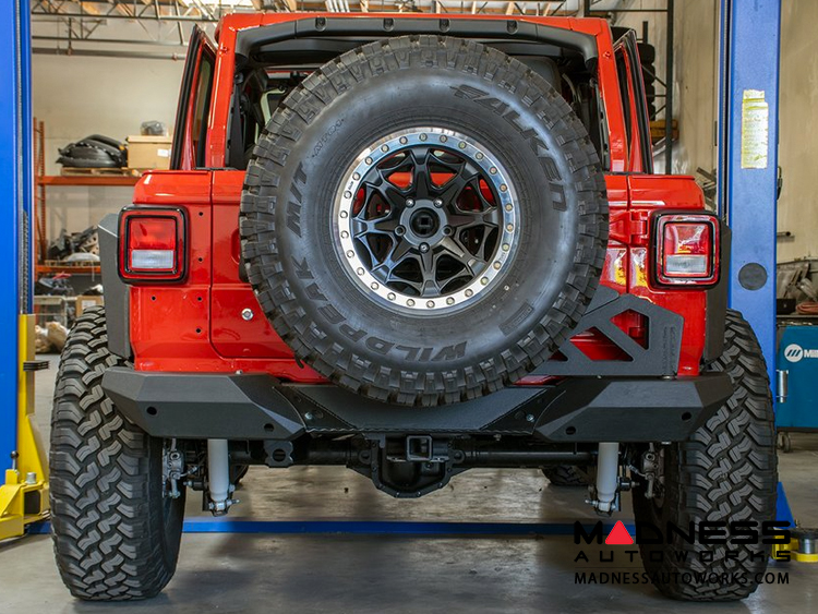 Jeep Wrangler JL Rear Bumper w/ Tire Carrier