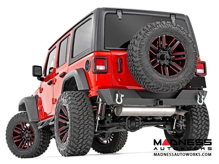 Jeep Wrangler JL Trail Bumper w/ Tire Carrier - Rear