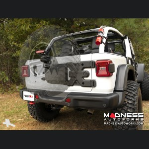 Jeep Wrangler JL Spartacus HD Tire Carrier Kit