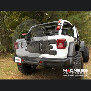 Jeep Wrangler JL Spartacus HD Tire Carrier w/ Wheel Mount