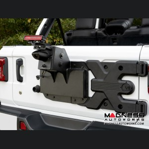 Jeep Wrangler JL Spartacus HD Tire Carrier Kit
