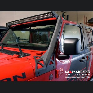 Jeep Wrangler JL Windshield Light Bar Bracket