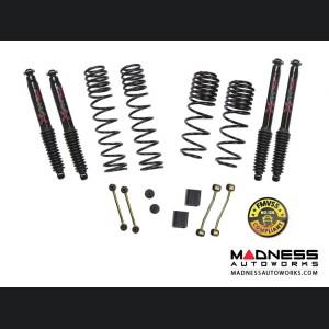 "Jeep Wrangler JL Dual Rate-Long Travel Lift Kit w/ Black MAX Shocks - 2 / 2.5"" - 2-Door - 4WD"