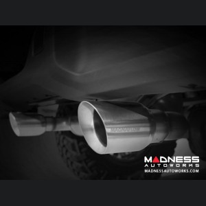 Jeep Wrangler JL Performance Exhaust System - Dual Exit Cat-Back - Stainless Steel - 3.6L