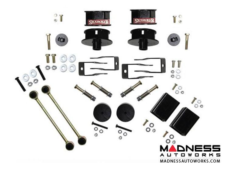 "Jeep Wrangler JL Metal Spacer Kit w/ Shock Extension Brackets - 2.5"" - All Models - 4WD"