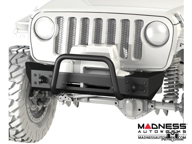 Jeep Wrangler JL Frame-Built Bumper Base w/Crawler Caps - #2201