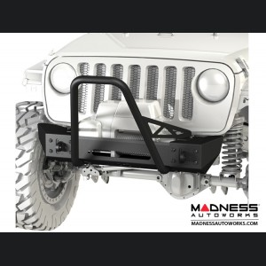 Jeep Wrangler JL Frame-Built Bumper Base w/Crawler Caps - #2202