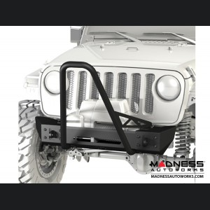 Jeep Wrangler JL Frame-Built Bumper Base w/Crawler Caps - #2203