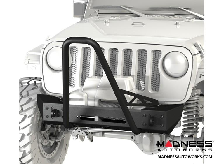 Jeep Wrangler JL Frame-Built Bumper Base w/Crawler Caps - #2203
