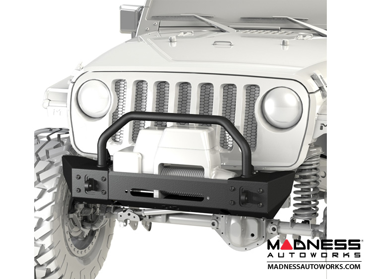 Jeep Wrangler JL Frame-Built Bumper Base w/Crawler Caps - #2204