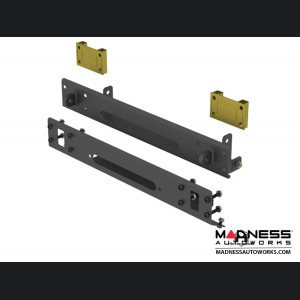 Jeep Wrangler JL Frame Built Bumper w/Stock Flare Caps - #2400