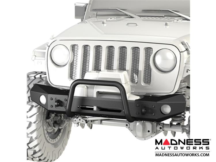 Jeep Wrangler JL Frame-Built Bumper - 2401