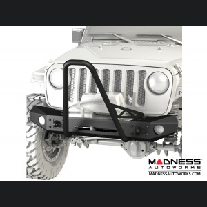Jeep Wrangler JL Frame-Built Bumper Base w/Stock Flare Caps - #2403
