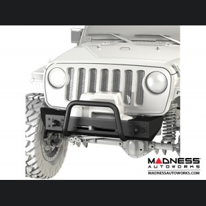 Jeep Wrangler JK Frame-Built Bumper Base w/Crawler Caps - #1201