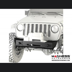 Jeep Wrangler JK Frame-Built Bumper Base w/Crawler Caps - #1202