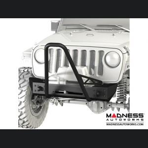 Jeep Wrangler JK Frame-Built Bumper Base w/ Crawler Caps - #1203