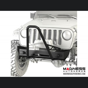 Jeep Wrangler JK Frame-Built Bumper Base w/ Crawler Caps - #1203
