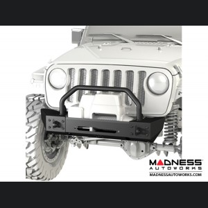 Jeep Wrangler JK Frame-Built Bumper Base w/Crawler Caps - #1204