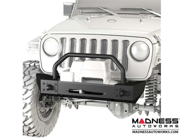 Jeep Wrangler JK Frame-Built Bumper Base w/Crawler Caps - #1204