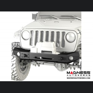Jeep Wrangler JK Frame-Built Bumper Base w/Crawler Caps - #1400