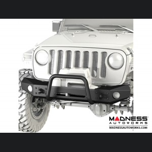 Jeep Wrangler JK Frame-Built Bumper Base w/Crawler Caps - #1401