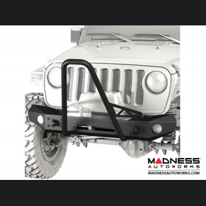Jeep Wrangler JK Frame-Built Bumper Base w/Crawler Caps - #1403