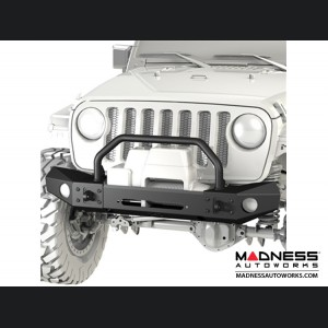 Jeep Wrangler JK Frame-Built Bumper Base w/Crawler Caps - #1404