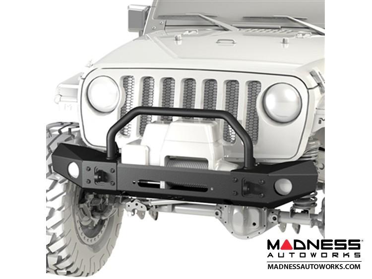 Jeep Wrangler JK Frame-Built Bumper Base w/Crawler Caps - #1404