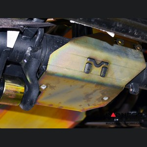 Jeep Wrangler JL Front Axle Disconnect Skid Plate System/Stabilizer Relocation