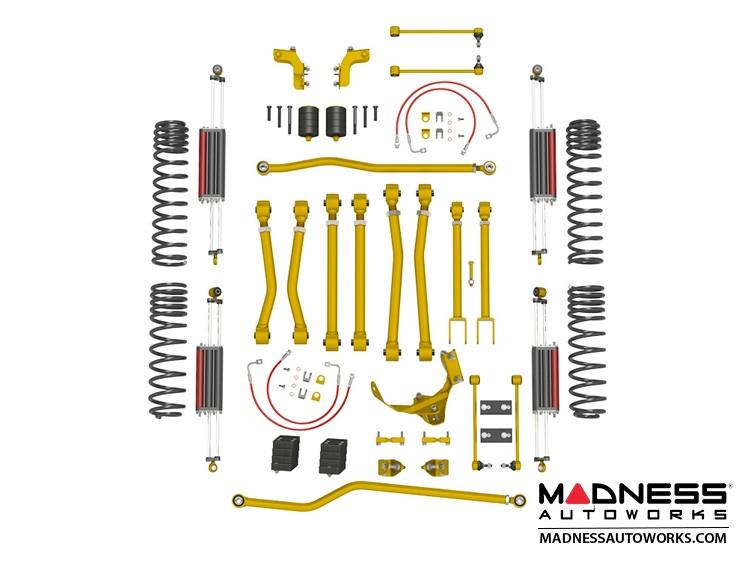 """Jeep Wrangler JK Game-Changer Suspension 2.5""""/3.5"""" - 6Pak Edition"""