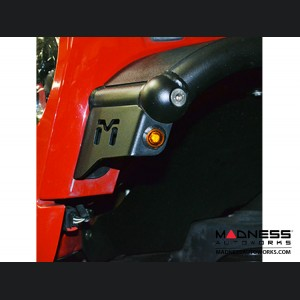 Jeep Wrangler JK Aluminum Overland Tube Fenders - Front