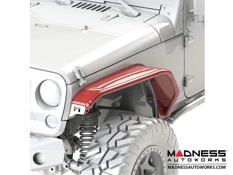 Jeep Wrangler JK Overland Tube Fenders - Front