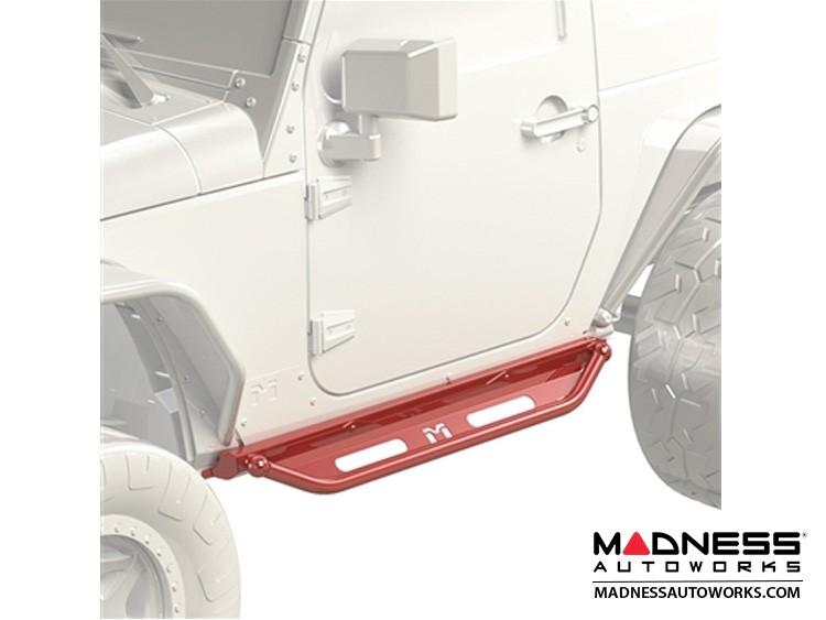 Jeep Wrangler JK Overland Rocker & Flip Step Kit - Pair - 2Door