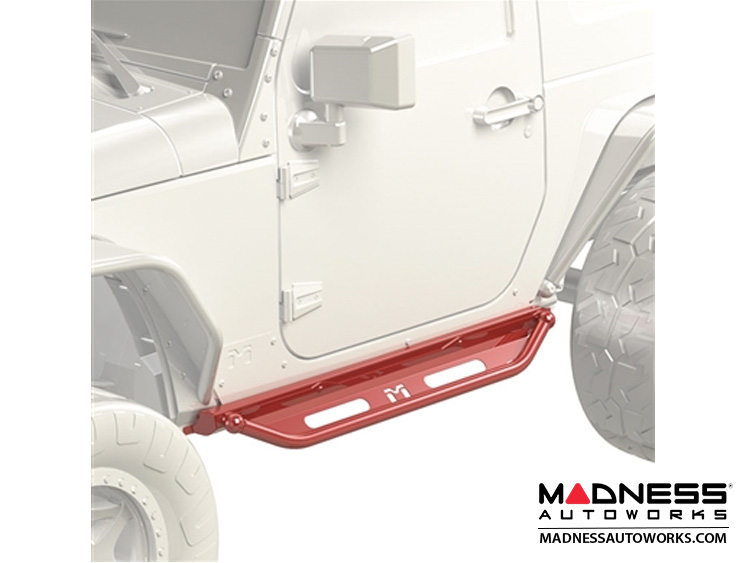 Jeep Wrangler JK Overland Rocker & Flip Step Kit - Pair - 2Door