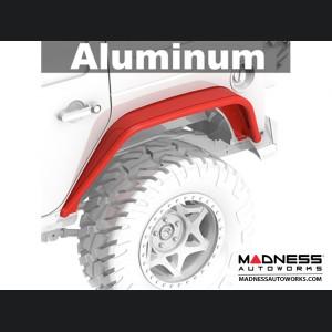 Jeep Wrangler JK Aluminum Overland Tube Fenders - Rear