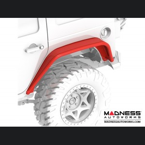 Jeep Wrangler JK Overland Tube Fenders - Rear