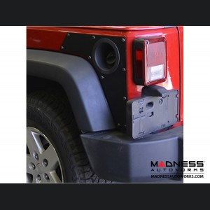 Jeep Wrangler JK Rear ExoSkin - 4Door - Pair - by MetalCloak