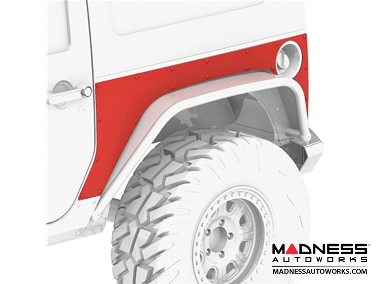 Jeep Wrangler JK Extended ExoSkin - Rear - 2 Door