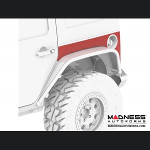 Jeep Wrangler JK Extended ExoSkin - Rear - 4 Door