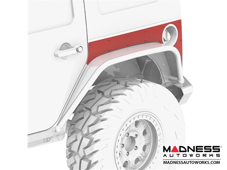 Jeep Wrangler JK Extended ExoSkin - Rear - 4 Door