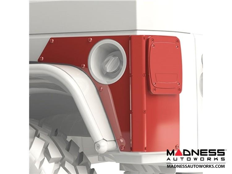 Jeep Wrangler JK Rear ExoSkin & ExoCorner Kit - 2Door - Pair