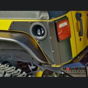 Jeep Wrangler JK Rear ExoSkin & ExoCorner Kit - 4Door - Pair