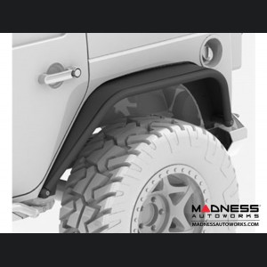 Jeep Wrangler JL Overland Tube Fenders - Rear