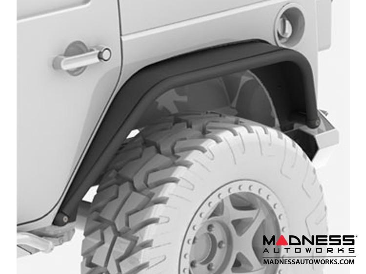 Jeep Wrangler JL Overland Tube Fenders - Rear