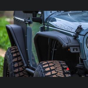 Jeep Wrangler JK Overline Tube Fender - Pair