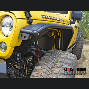 Jeep Wrangler JK Overline Hi-Clearance Quick-Release Front Flare - Standard Edition - Pair