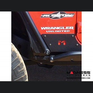 Jeep Wrangler JK Rocker Exoskin - Pair - 4Door