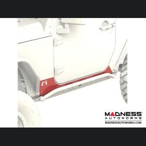 Jeep Wrangler JK Rocker Exoskin - Pair - 2Door