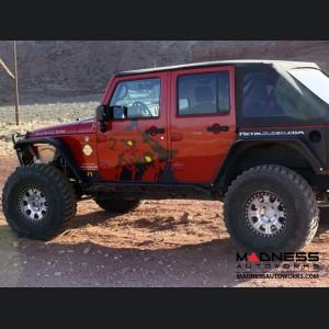 Jeep Wrangler JK Rocker Rail - Pair - 4 Door