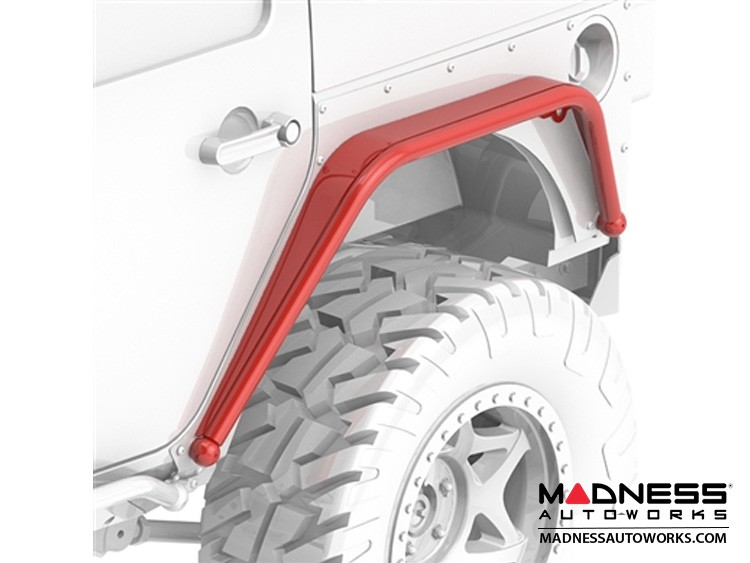 Jeep Wrangler JK Overline Hi-Clearance Dovetailed & Removable Rear Flare - Narrow Edition - Pair